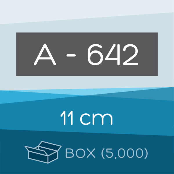 Box of 5,000 | 11 cm Ahlstrom 642 Folded Filter Papers for Qualitative Analysis