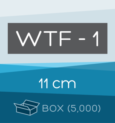 Box of 5,000 | 11 cm WTF-1 Folded Filter Papers for Qualitative Analysis