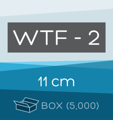 Box of 5,000 | 11 cm WTF-2 Folded Filter Papers for Qualitative Analysis