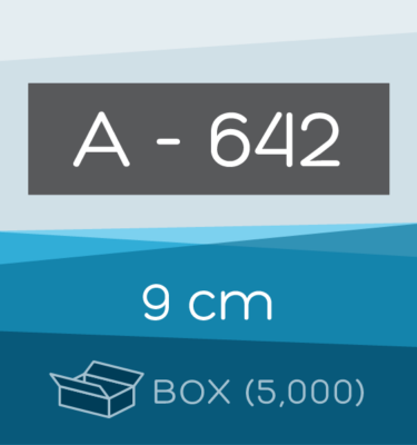 Box of 5,000 | 9 cm Ahlstrom 642 Folded Filter Papers for Qualitative Analysis