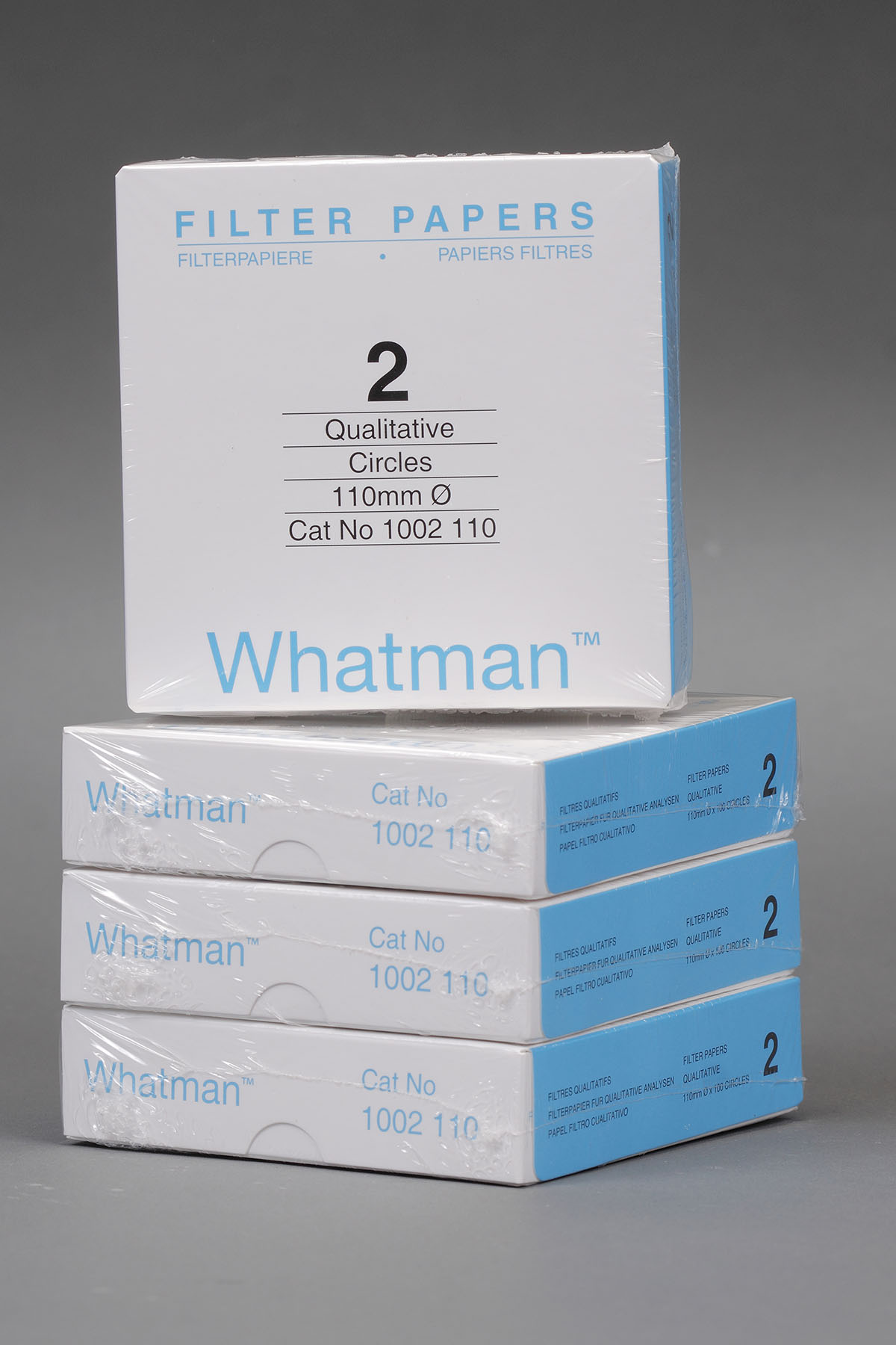 Box of 100 | 11 cm Whatman Grade 2 Cellulose Filter Papers for Qualitative Analysis