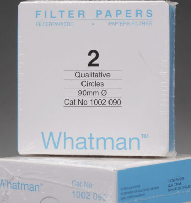 Box of 100 | 9 cm Whatman Grade 2 Cellulose Filter Papers for Qualitative Analysis